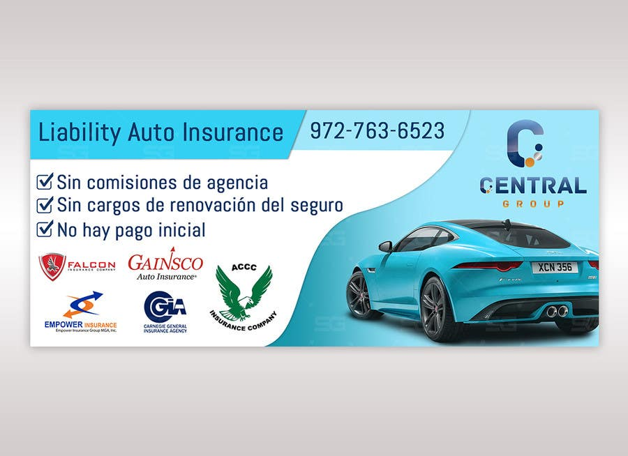 Entry 15 By Shrujalgoswami For Auto Insurance Banner Freelancer