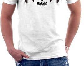 nº 39 pour Simple T-Shirt Design heart cam barbell with kettlebell par erwantonggalek