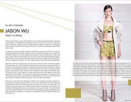 nº 3 pour Fashion Magazine Design par felixdidiw