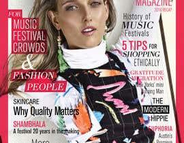 nº 8 pour Fashion Magazine Design par smrithi88