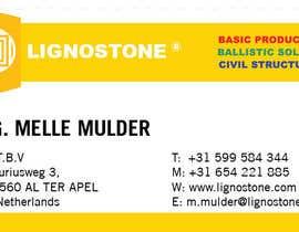 nº 4 pour renewed business card + reshuffle logo/letterhead par farheem