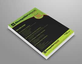 nº 55 pour Design a Flyer on our services par mmhmonju