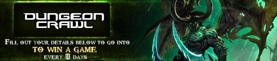 Penyertaan Peraduan #                                        102                                      untuk                                         Banner Ad Design for Dungeon Crawl