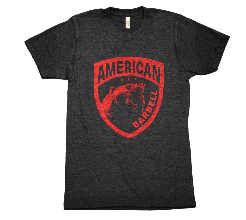 Proposition n°132 du concours Design a T-shirts for American Barbell - 10 designs needed
