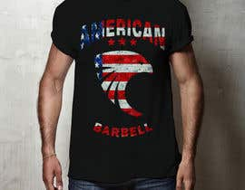 #63 for Design a T-shirts for American Barbell - 10 designs needed by tiagorsantanas