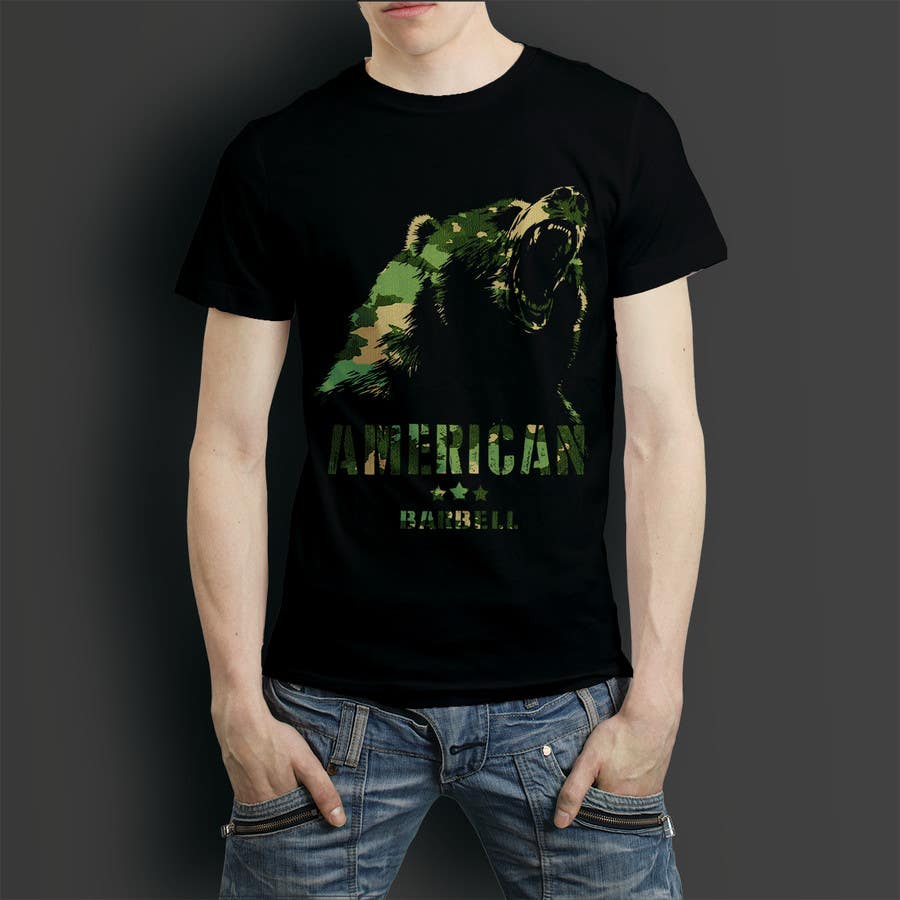 Proposition n°76 du concours Design a T-shirts for American Barbell - 10 designs needed