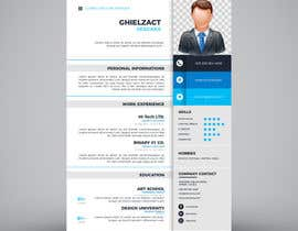 nº 2 pour i need some design for my resume par ghielzact