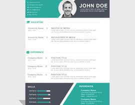 nº 1 pour i need some design for my resume par Abdullah2222