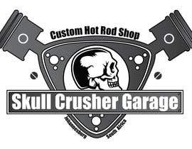 #13 for I need a logo designed for a custom car garage we build hot rods. the shop is call skull crusher garage, the design must include a skull! by AYoussefEzzat