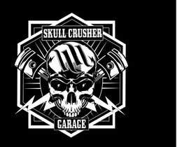 #10 for I need a logo designed for a custom car garage we build hot rods. the shop is call skull crusher garage, the design must include a skull! by fiziaszeman