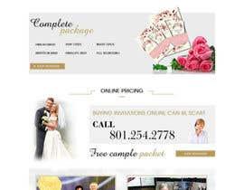 Nro 1 kilpailuun Design a Website Mockup käyttäjältä webidea12