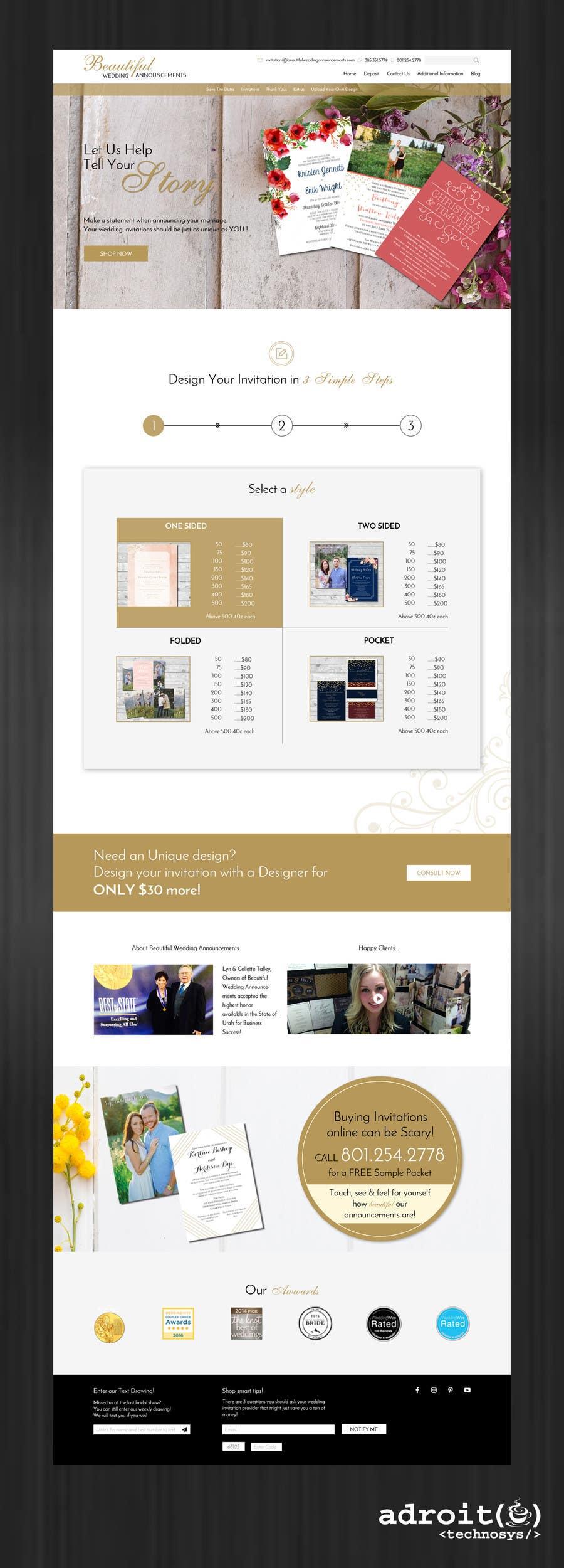 Kilpailutyö #                                        12                                      kilpailussa                                         Design a Website Mockup