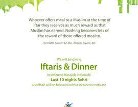 #28 for Ihsaas Trust Ramazan Iftari Program by farhanrizvi