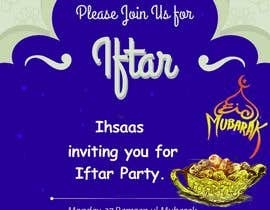 #40 for Ihsaas Trust Ramazan Iftari Program by wpdexigner
