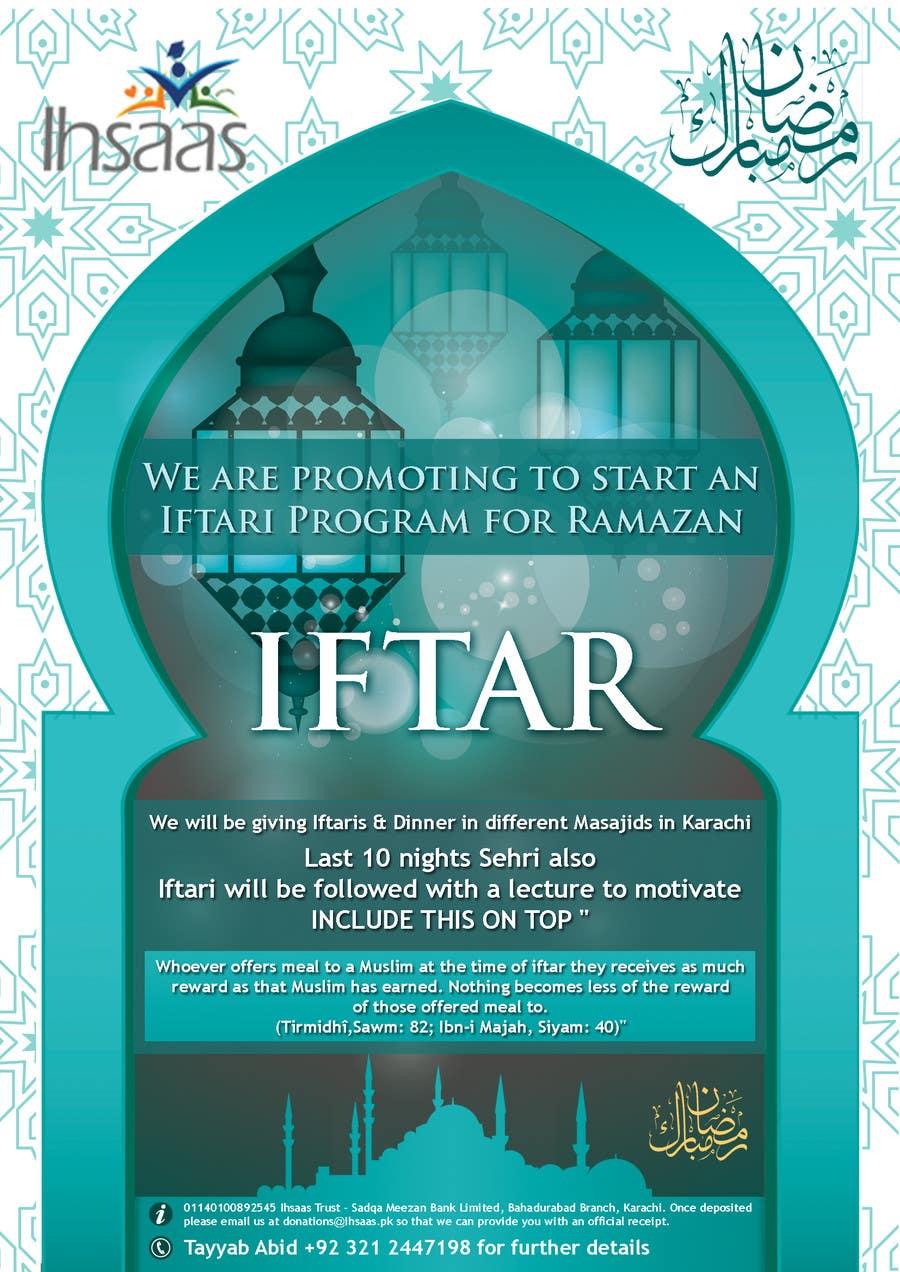 Kilpailutyö #                                        26                                      kilpailussa                                         Ihsaas Trust Ramazan Iftari Program