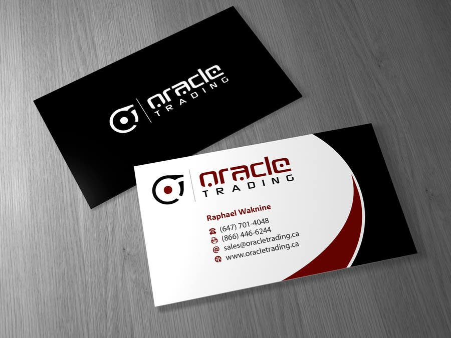 Entry 19 by brandwar for business card letterhead design for contest entry 19 for business card letterhead design for oracle trading inc colourmoves Choice Image