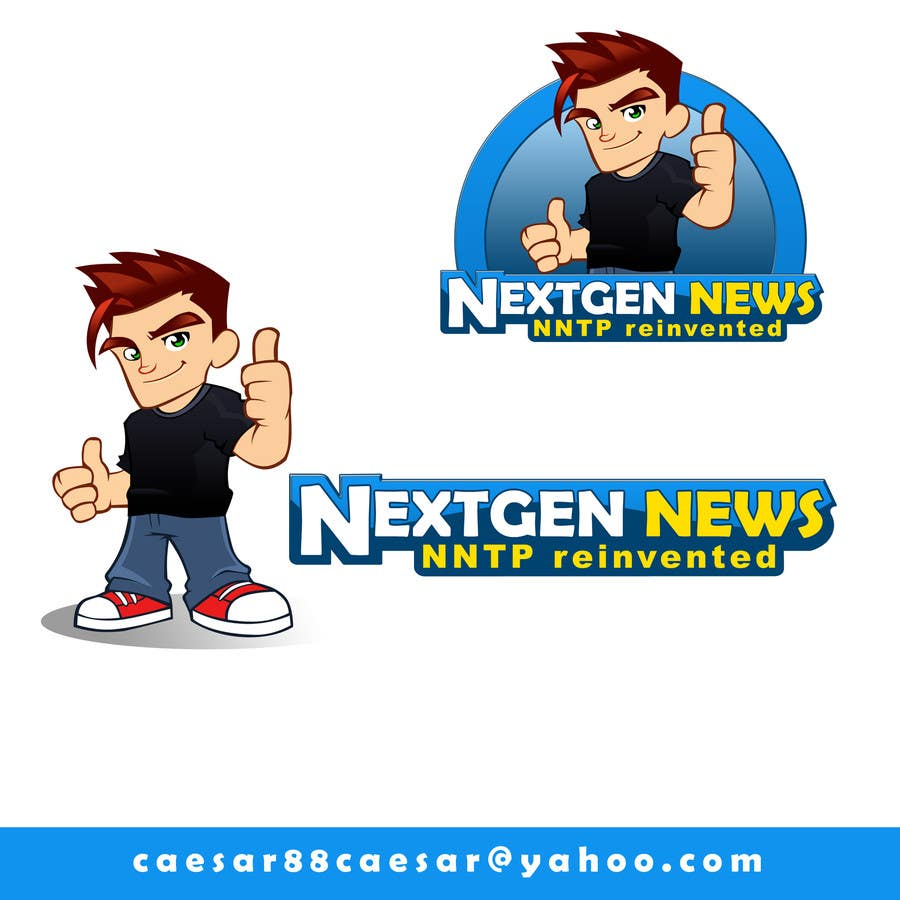 Konkurrenceindlæg #                                        74                                      for                                         Logo Design for NextGenNews
