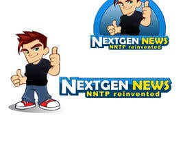 #74 para Logo Design for NextGenNews por caesar88caesar