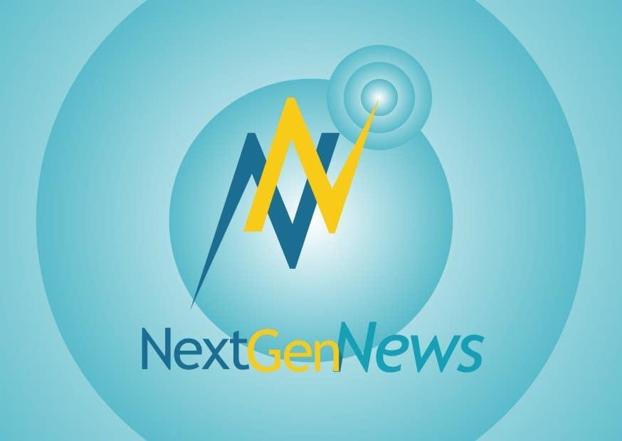 "Intrarea #43 pentru concursul ""Logo Design for NextGenNews"""