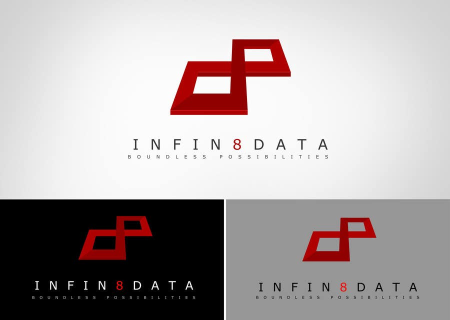 #281 for Logo Design for Infin8data by bamz23