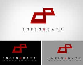 #281 para Logo Design for Infin8data por bamz23