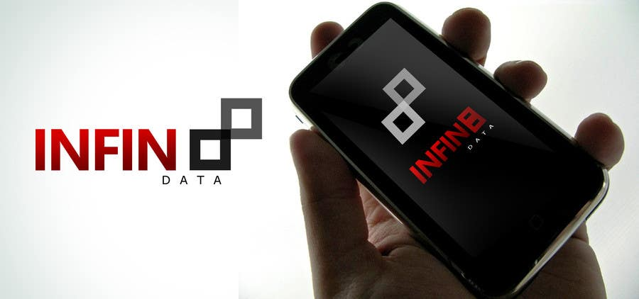 #163 for Logo Design for Infin8data by bamz23