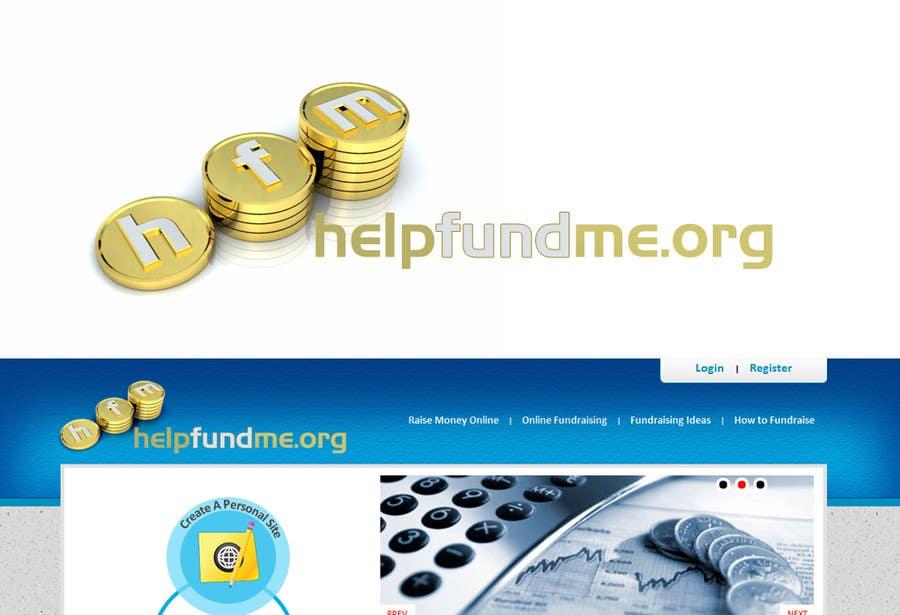 Inscrição nº 51 do Concurso para Logo Design for helpfundme.org