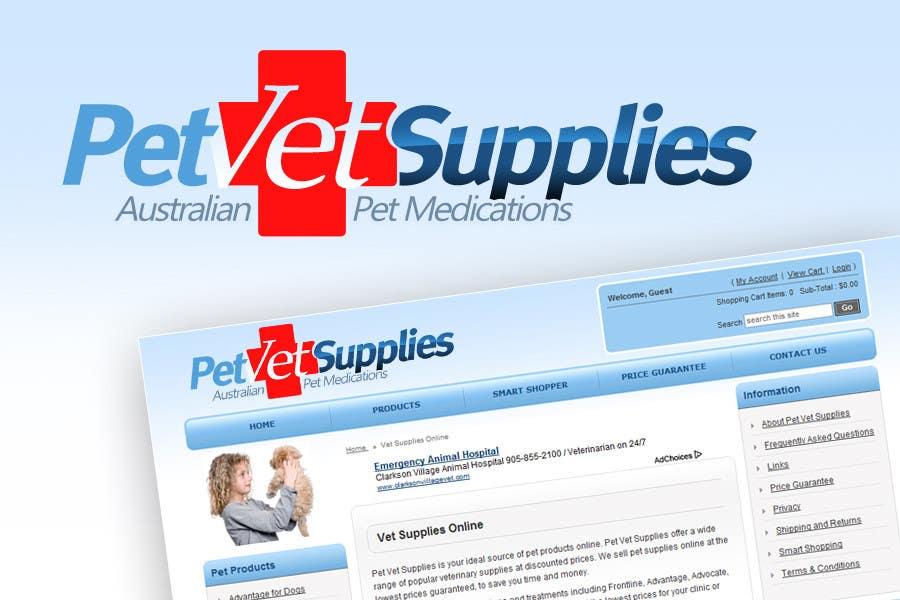 Inscrição nº 70 do Concurso para Logo Design for Pet Vet Supplies