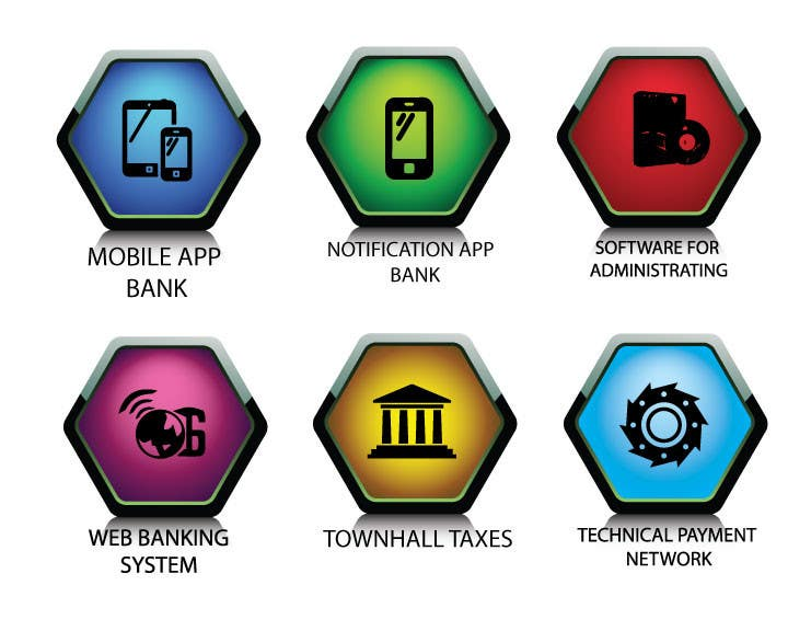 Penyertaan Peraduan #                                        13                                      untuk                                         Design some Icons for Technology products