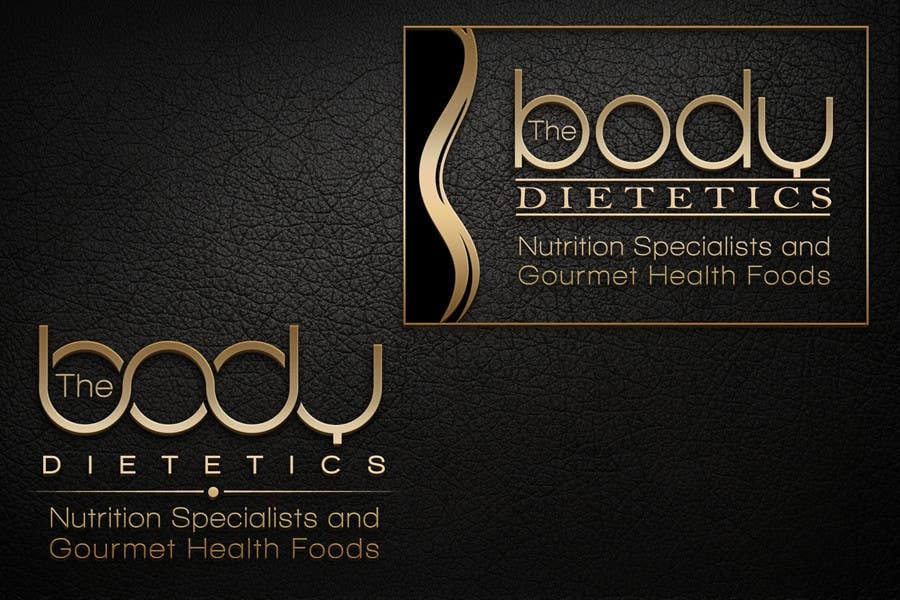 #123 for Logo Design for The Body Dietetics; health food and nutrition advice. by dimitarstoykov