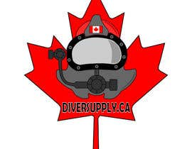nº 21 pour Logo Design - Canadian Divers Supply par Yazimo