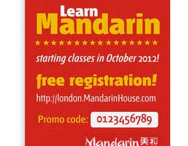 #23 for Flyer Design for Mandarin House by santarellid