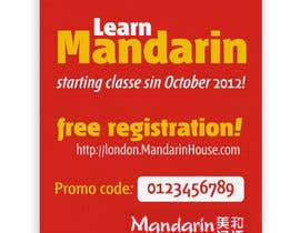 #18 for Flyer Design for Mandarin House by santarellid