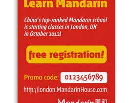 #15 for Flyer Design for Mandarin House by santarellid