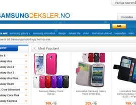 #85 untuk New logo for webshop - www.samsungdeksler.no oleh moneyfactory
