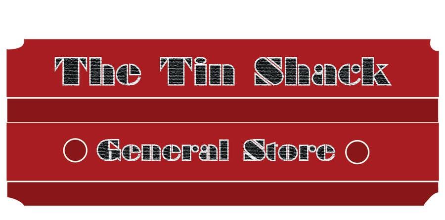 Proposition n°1 du concours Tin Shack Store