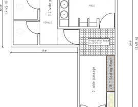 #2 for Restrooms design (Autocad) by Rafiur2454