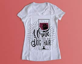 #62 for Design a Woman's T-Shirt for the dog lover by gicaandgnjida