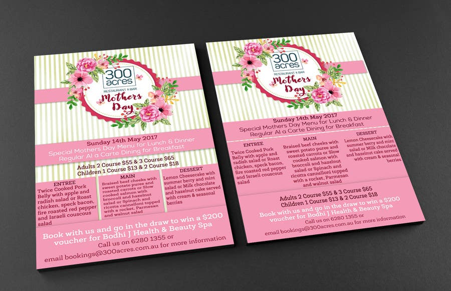Proposition n°6 du concours Design a Mother's Day Flyer