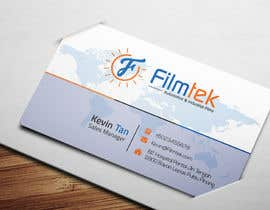 nº 170 pour Design some Business Cards For Automotive and Instrial Film COmpany par RohanPro