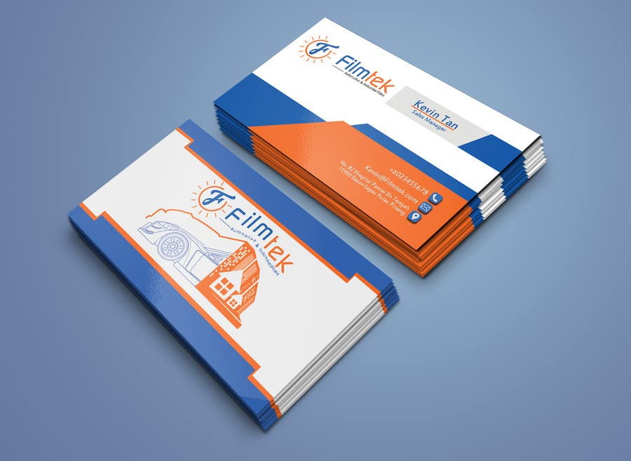 Proposition n°166 du concours Design some Business Cards For Automotive and Instrial Film COmpany