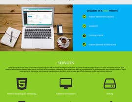 nº 9 pour Need Only Homepage for Software and web development company par adefton