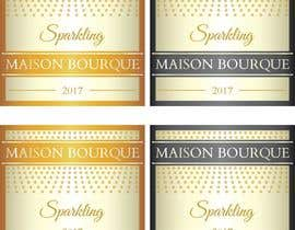nº 3 pour Create Sparkling Wine Label par lounzep
