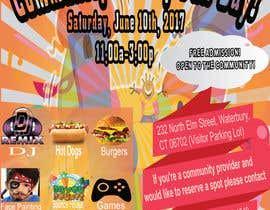 #26 for Design a Flyer for a Community Fun Day! by mdmahinshek9
