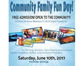 Nro 13 kilpailuun Design a Flyer for a Community Fun Day! käyttäjältä Sagor7777