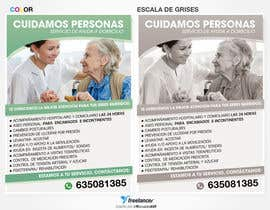 nº 25 pour Flyer publicitario - Cuidar personas par RonaldoAVF