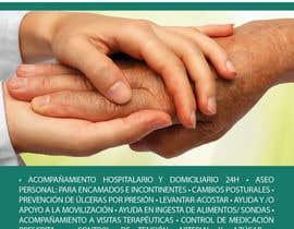 nº 30 pour Flyer publicitario - Cuidar personas par AFjurado