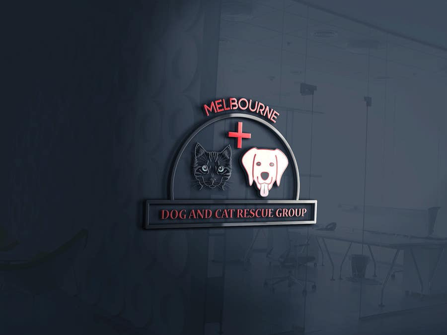 Proposition n°15 du concours Create a logo for Melbourne Dog and Cat Rescue Group