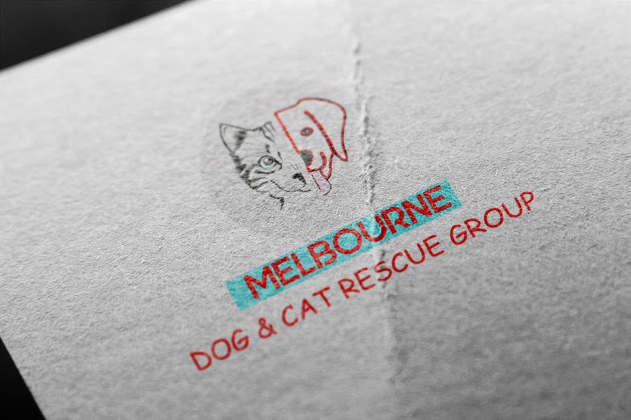 Proposition n°17 du concours Create a logo for Melbourne Dog and Cat Rescue Group