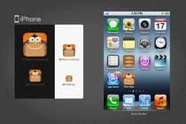 iPhone/iPad app icon design for classified website dkkani.com için Graphic Design33 No.lu Yarışma Girdisi